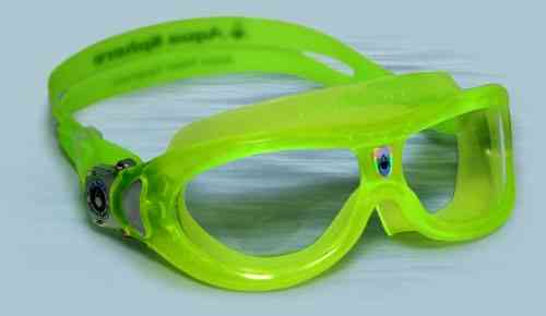 Kinder Schwimmbrille Aqua Sphere Seal Kid 2, lime, gelb